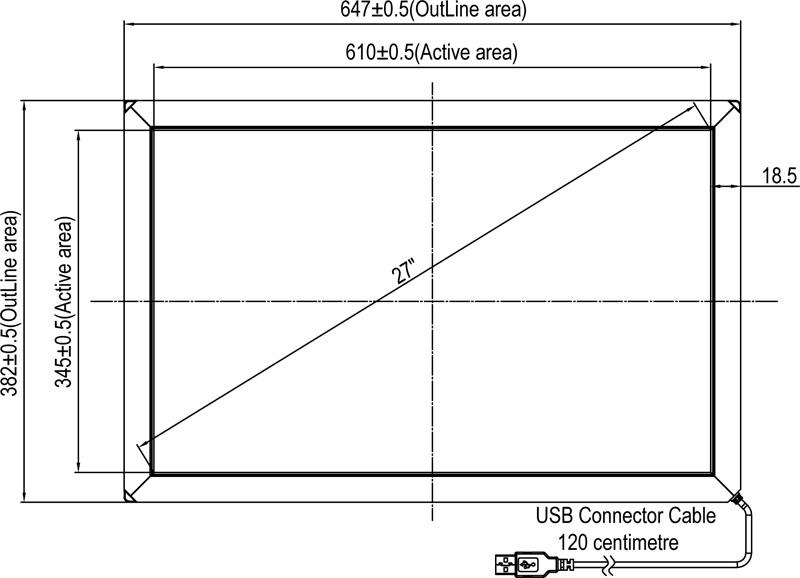 panel-tactil-ir-de-27